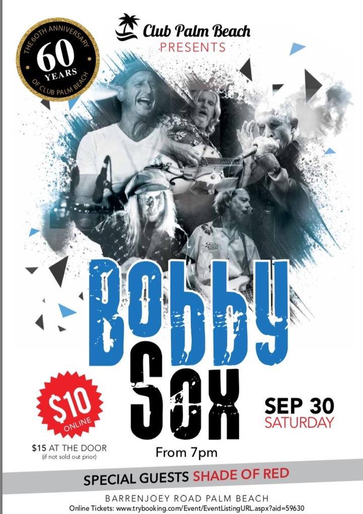 BOBBY SOX @ Club Palm Beach - Sydney, Australia