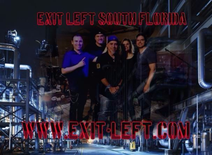 Exit Left @ Shenanigan's Sports Pub - Hollywood, FL