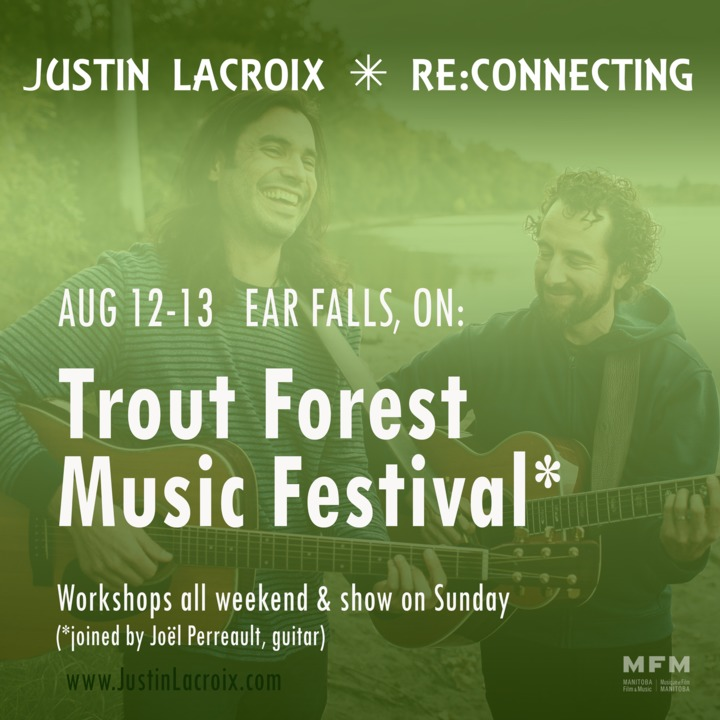 Justin Lacroix Band @ Trout Forest Music Festival - Ear Falls, Canada