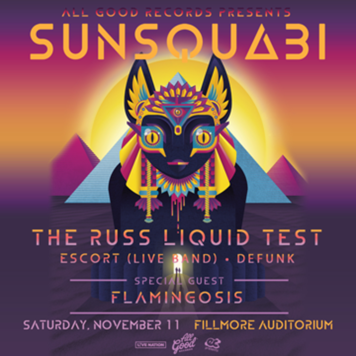 SunSquabi @ The Ritz Raleigh - Raleigh, NC