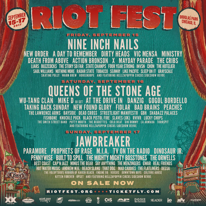 Lucky Chops @ Riot Fest - Chicago, IL