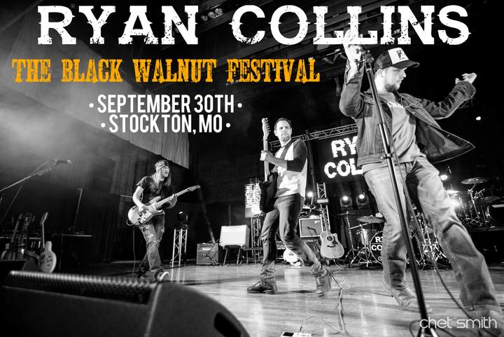 Ryan Collins @ The Black Walnut Festival  - Stockton, MO