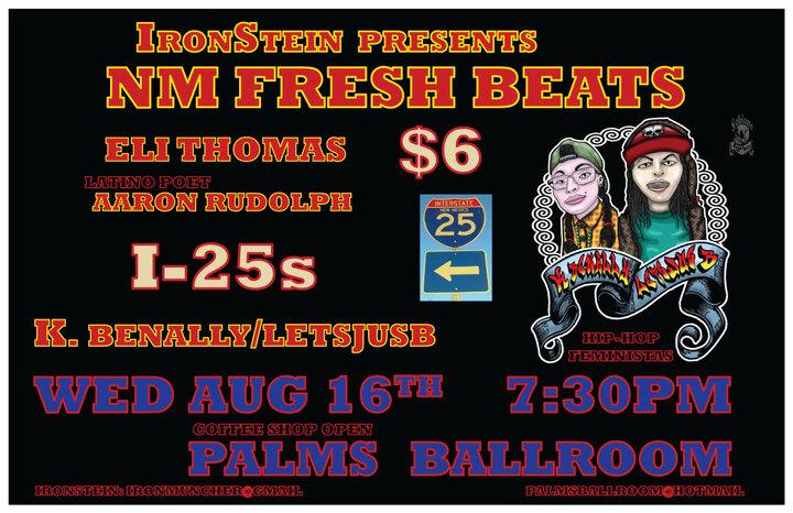 K.Benally/Letsjusb @ Event Center At The Palms Ballroom - Las Vegas, NM
