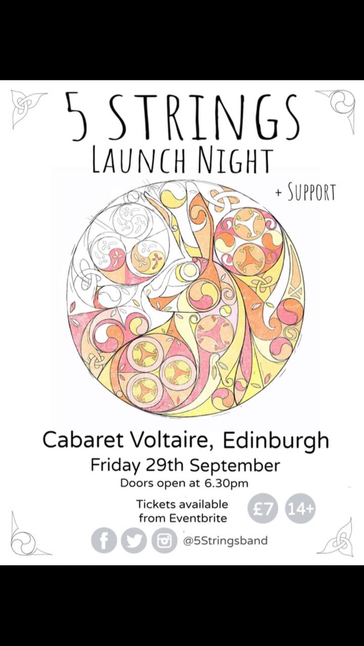 5 Strings @ Cabaret Voltaire - Edinburgh, United Kingdom