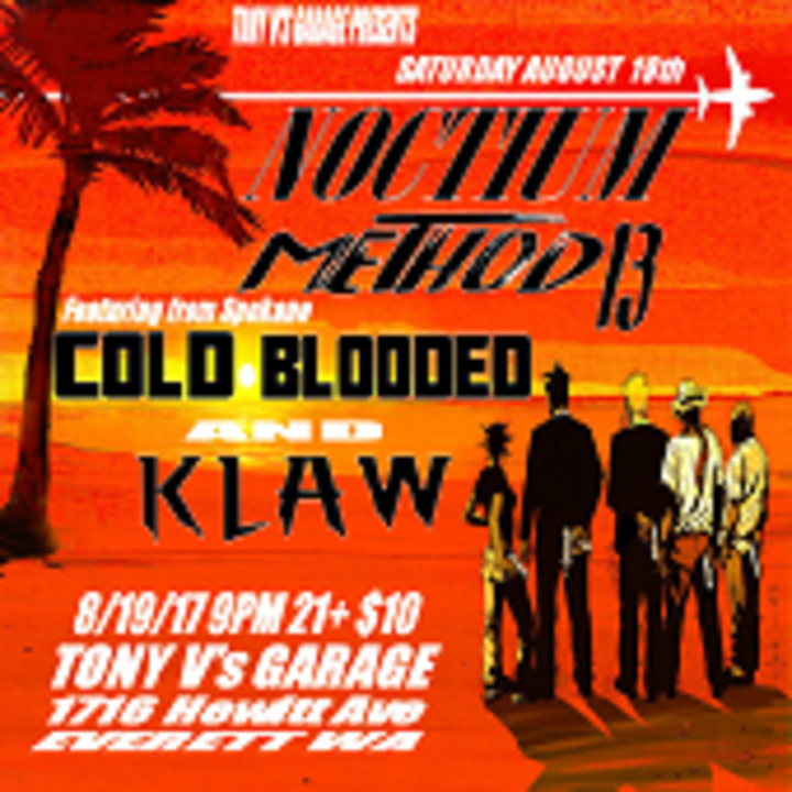 Klaw Tour Dates