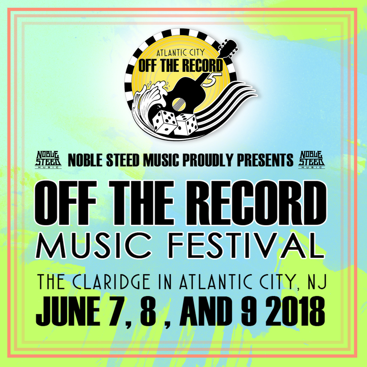 Brian Dunne @ Off The Record Music Festival - Atlantic City, NJ