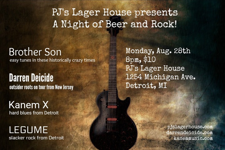 Kanem X @ PJ's Lager House - Detroit, MI