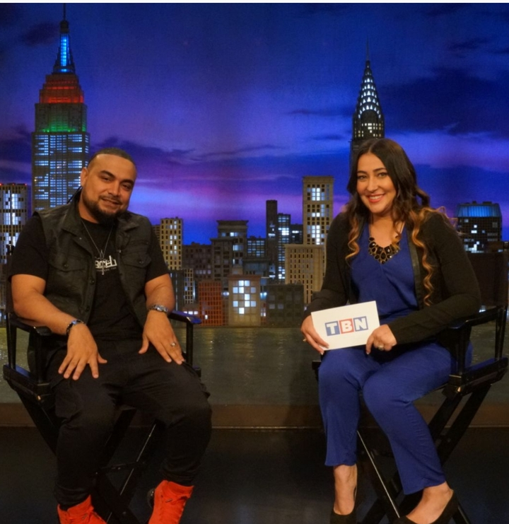 Jeannie Ortega @ Watch 'In The Mix' On TBN Salsa - New York, NY