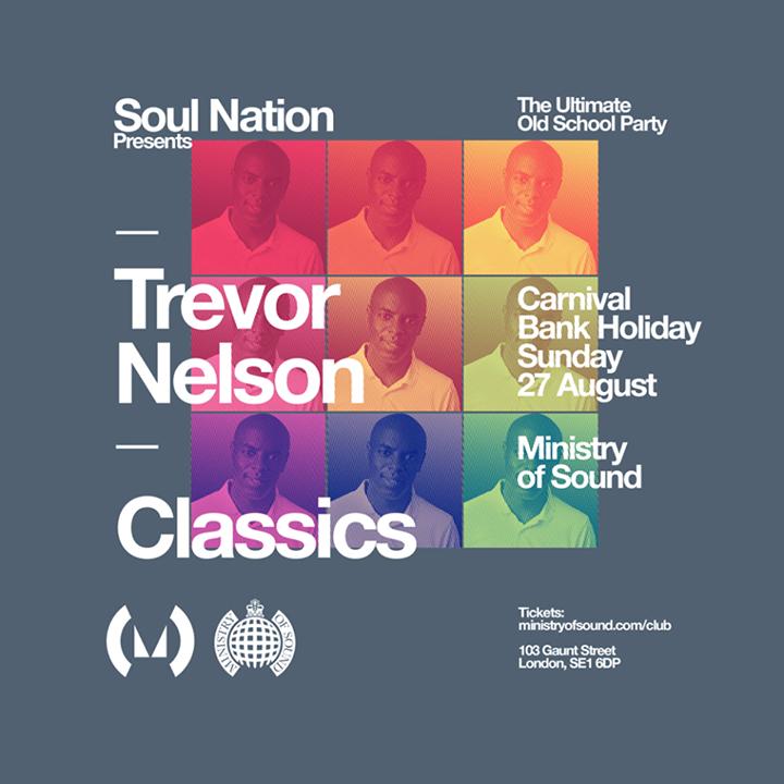 Trevor Nelson @ Ministry Of Sound - London, United Kingdom