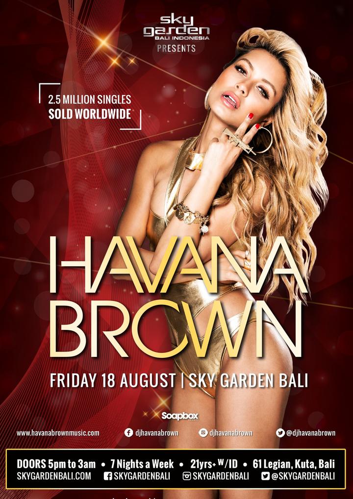 DJ Havana Brown @ Sky Garden - Bali - Badung, Indonesia