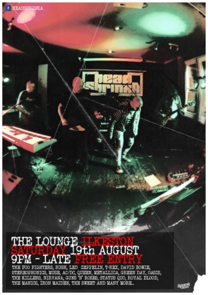 Headshrinka @ The Lounge - Ilkeston, United Kingdom