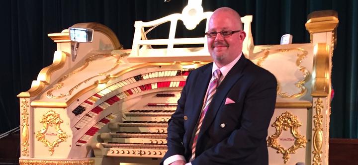 Ian Gough @ Cinema Organ Concert @ Theatre Organ Heritage Centre - Peel Green, United Kingdom