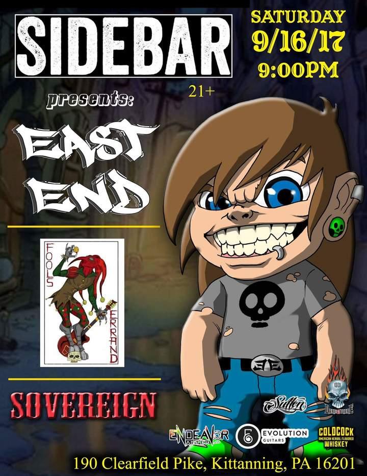 East End @ Sidebar - Frazer Township, PA