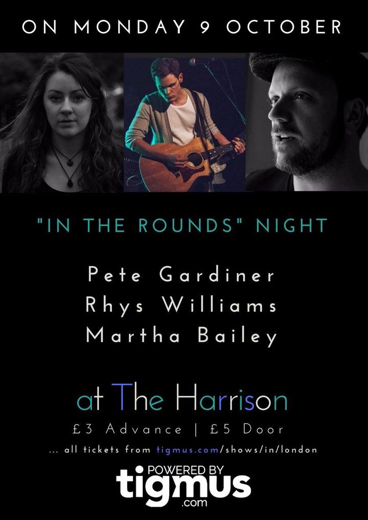 Martha Bailey Music @ The Harrison, Kings Cross  - London, United Kingdom