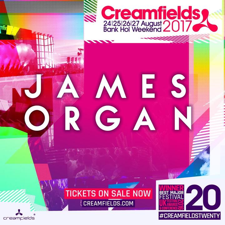 James Organ @ Creamfields (Steelyard) - Hatton, United Kingdom