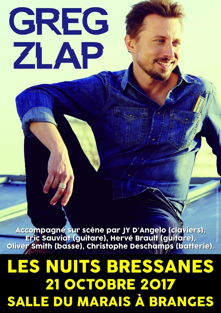 Greg Zlap - official @ Greg Zlap - Les Nuits Bressanes  - Branges, France