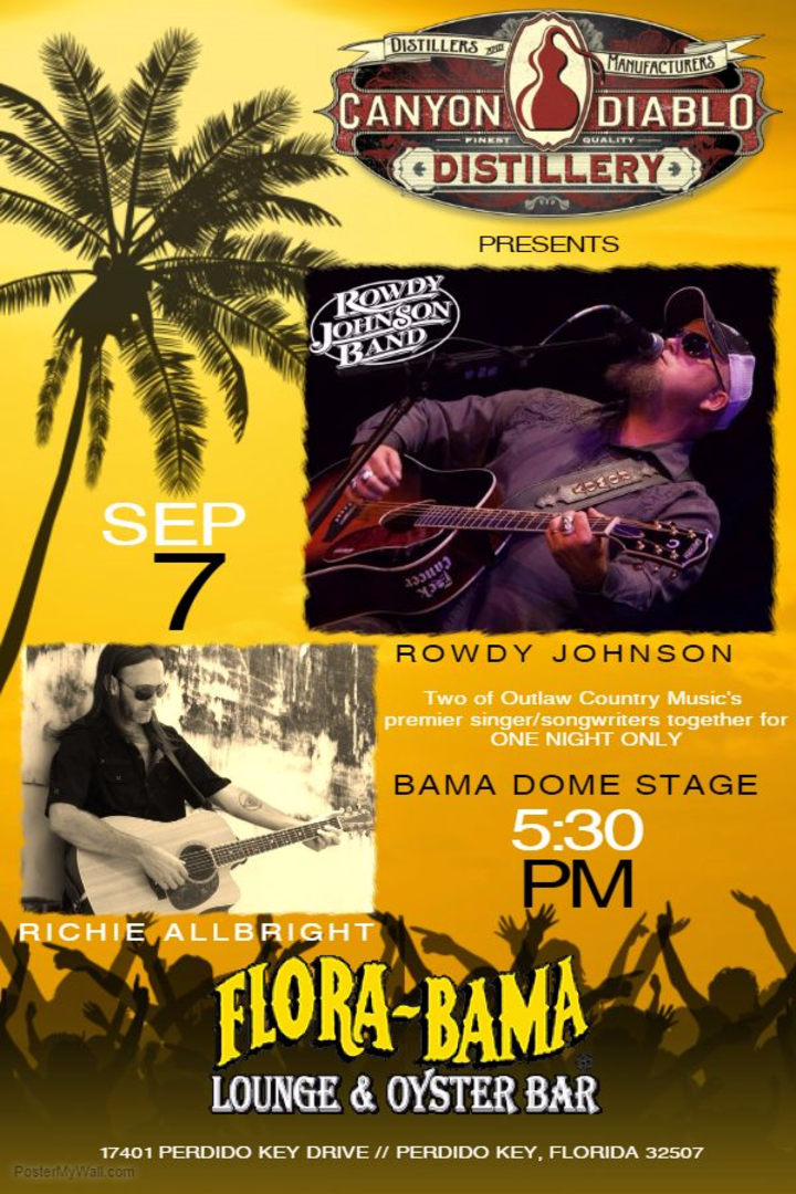 Rowdy Johnson Band @ Flora Bama - Perdido Key, FL