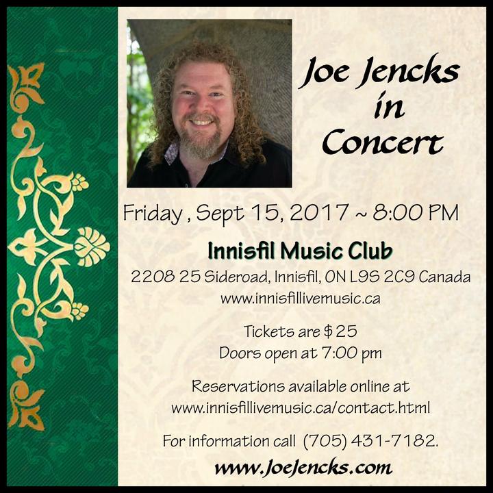 Joe Jencks @ Innisfil Music Club - Innisfil, Canada
