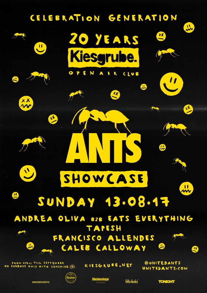Andrea Oliva @ ANTS Showcase @ Kiesgrube - Neuss, Germany