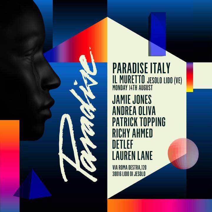 Andrea Oliva @ Paradise @ Il Muretto - Jesolo, Italy