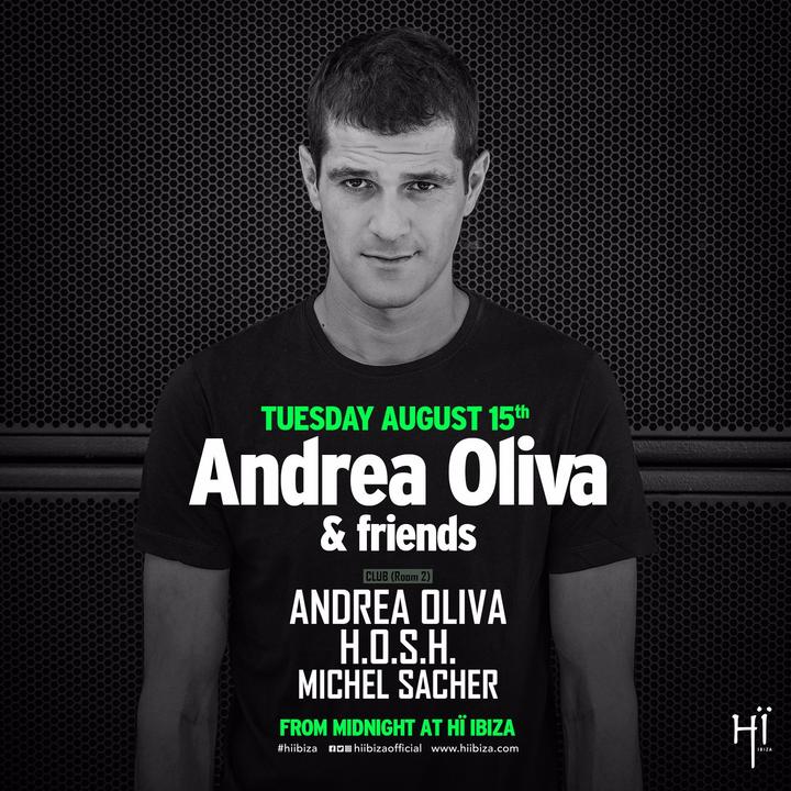 Andrea Oliva @ Andrea Oliva & Friends @ Hï Ibiza - Platja D'en Bossa, Spain