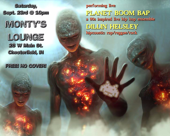 Planet Boom Bap @ Monty's Lounge - Chesterfield, IN