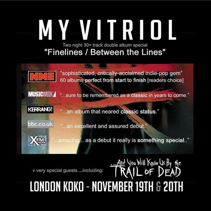 My Vitriol @ Academy - Newcastle Upon Tyne, United Kingdom