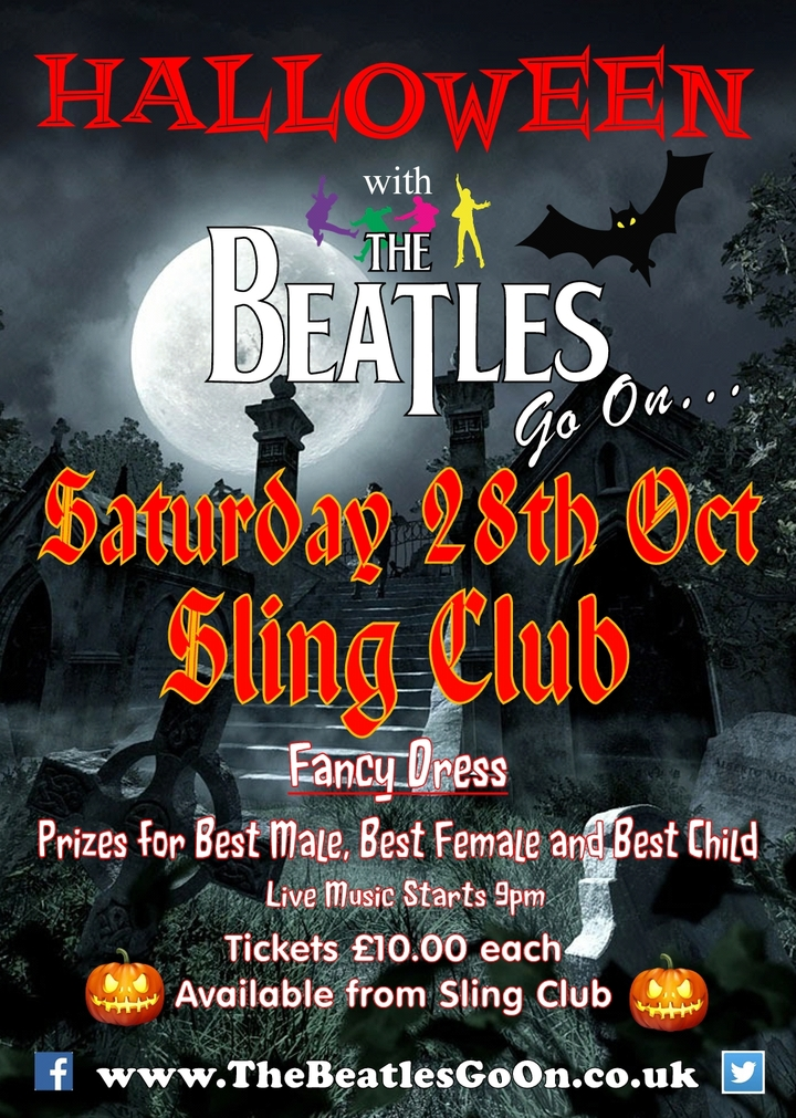 The Beatles Go On - Beatles Tribute Band @ Sling Club - Coleford, United Kingdom