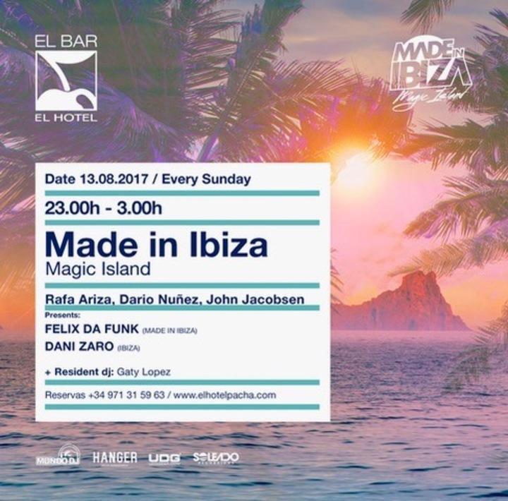 Felix da Funk @ Hotel Pacha - Ibiza, Spain