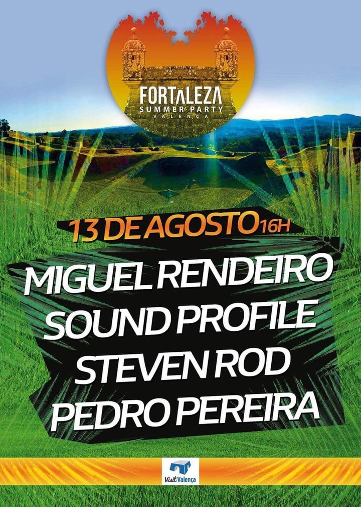 Miguel Rendeiro @ Fortaleza Summer Party  - Valenca, Portugal
