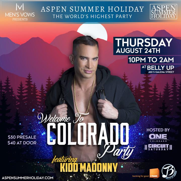 DJ Kidd Madonny @ Belly Up - Aspen, CO