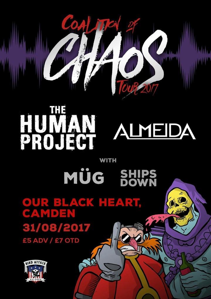 Ships Down @ The Black Heart - London, United Kingdom