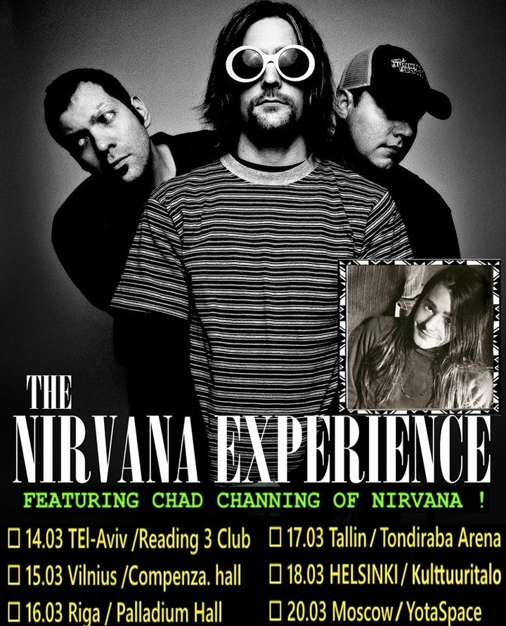The Nirvana Experience @ Readin 3 - Tel Aviv, Israel