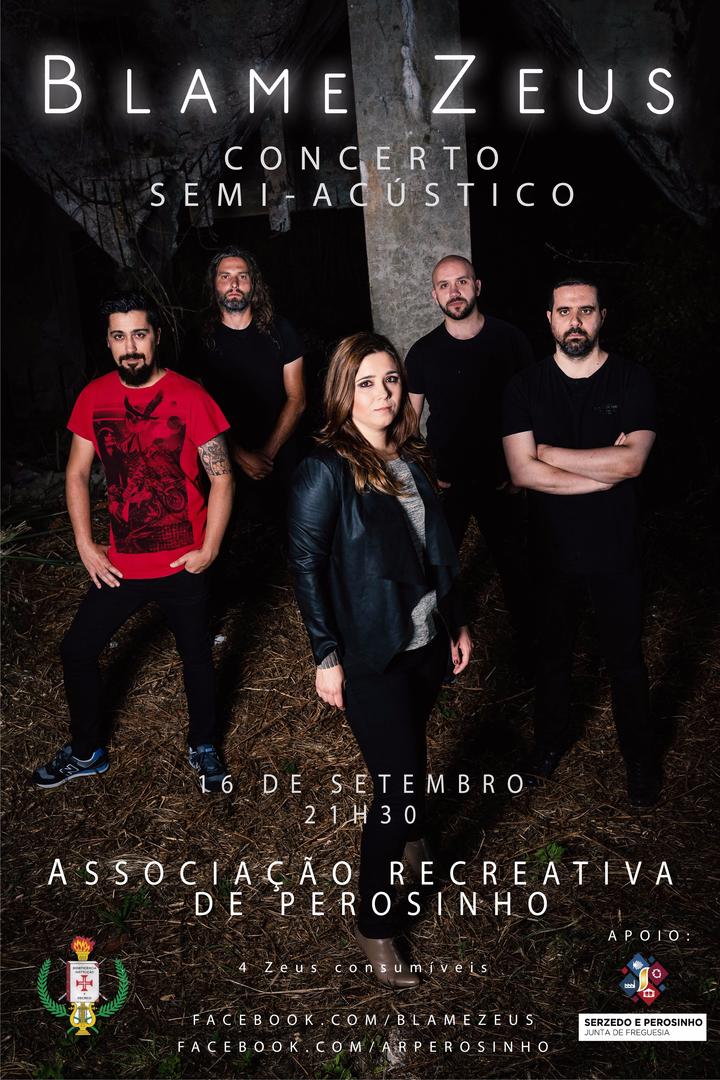 Blame Zeus @ Associação Recreativa de Perosinho - Vila Nova De Gaia, Portugal