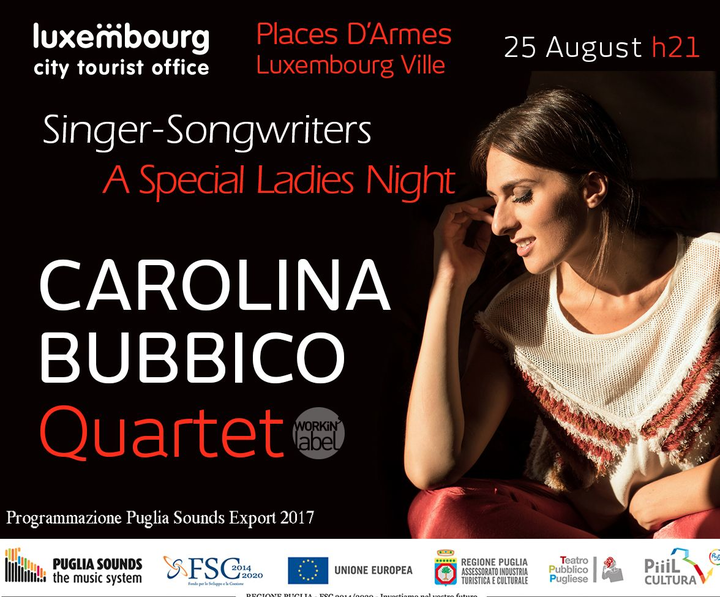 Carolina Bubbico @ Places D'Armes - Luxembourg, Luxembourg