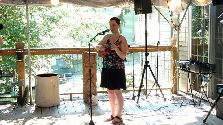 Ami Madeleine @ Cornwall Library Pop Up Café  - Cornwall, NY