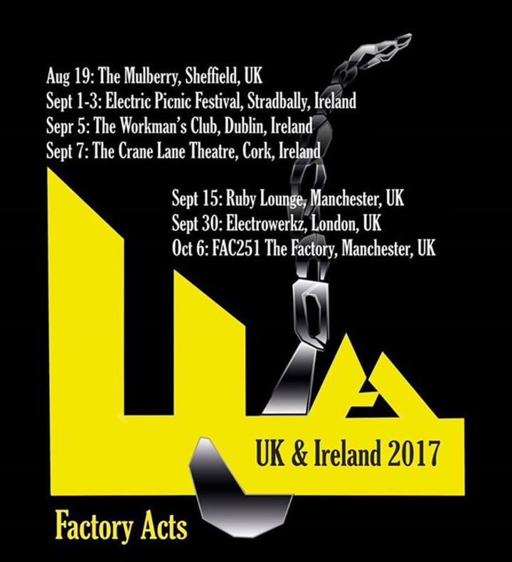 Factory Acts @ The Ruby Lounge - Manchester, United Kingdom