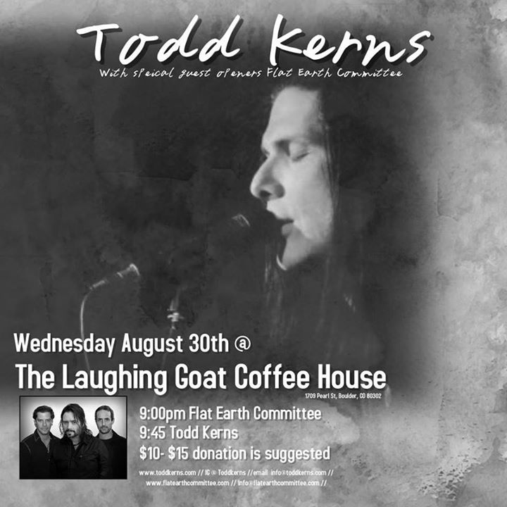 Todd Kerns @ The Laughing Goat - Boulder, CO