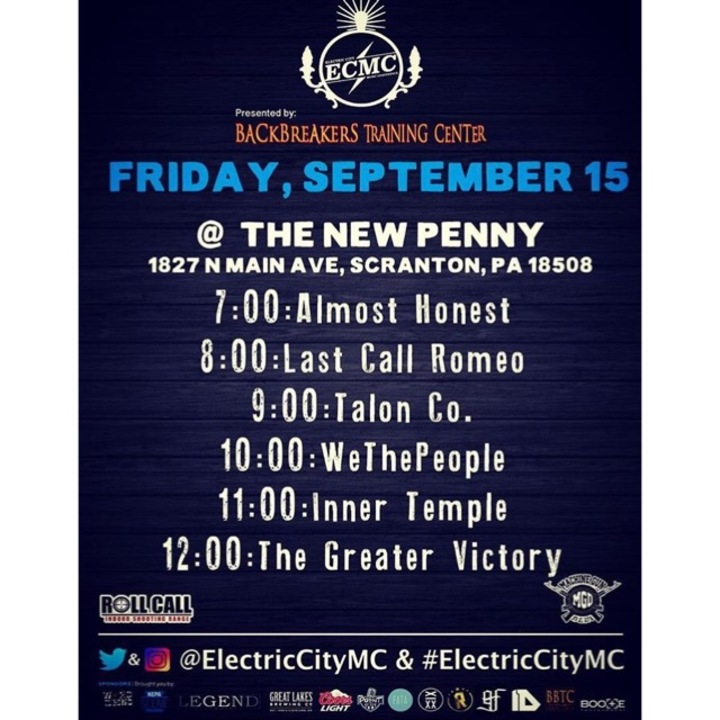Inner Temple @ The New Penny  - Scranton, PA