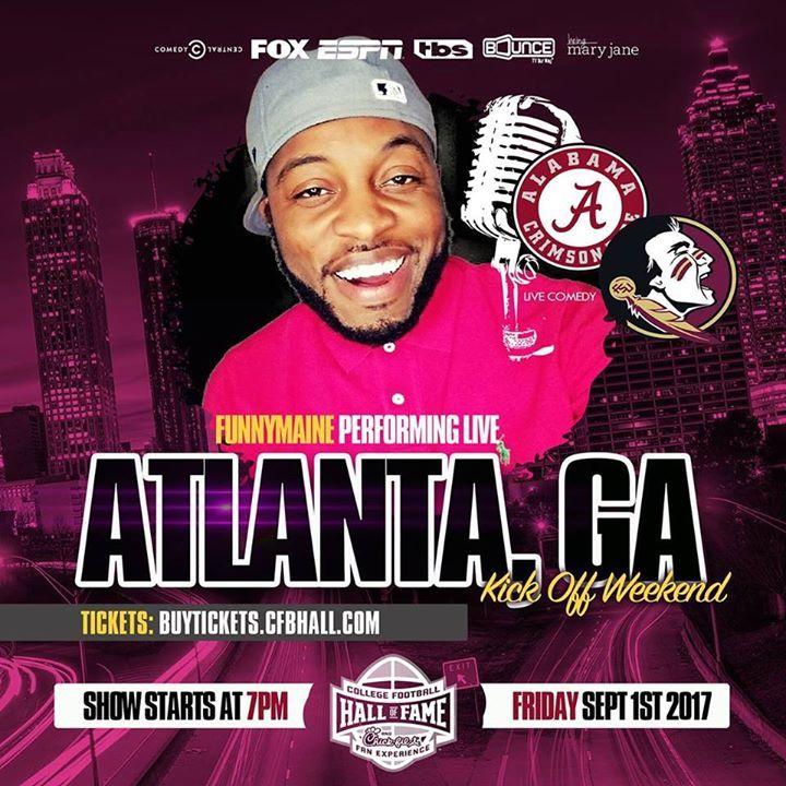 Jermaine Funnymaine Johnson @ Comedy Zone - Jacksonville, FL