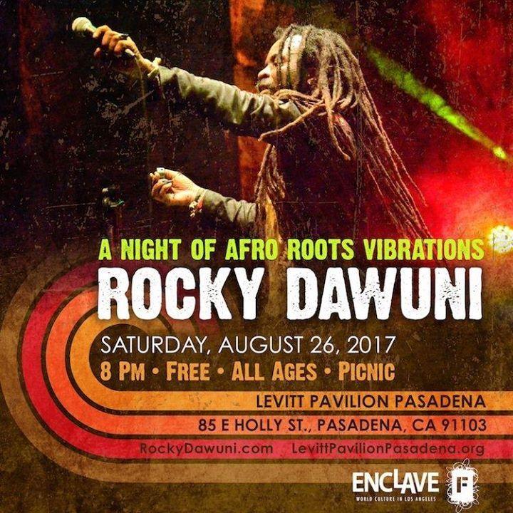 Rocky Dawuni Tour Dates