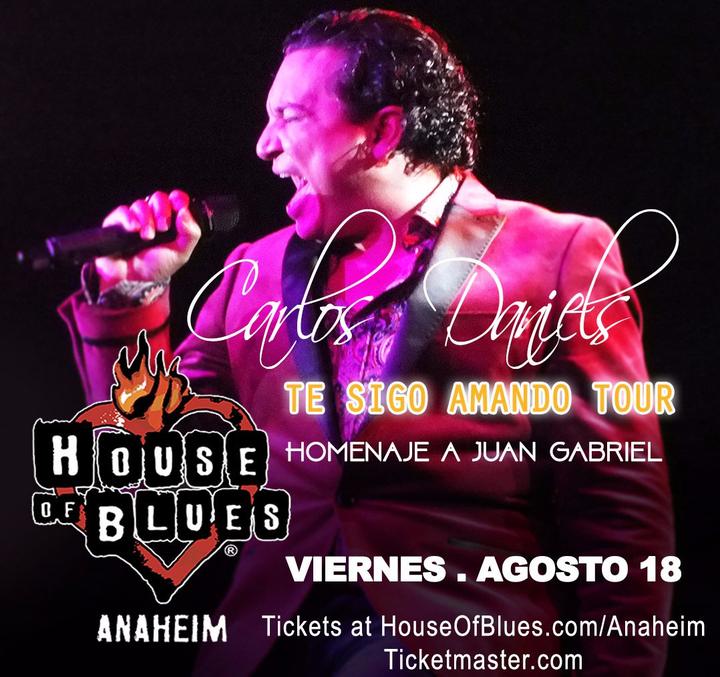 Carlos Daniels @ House of Blues Anaheim - Anaheim, CA