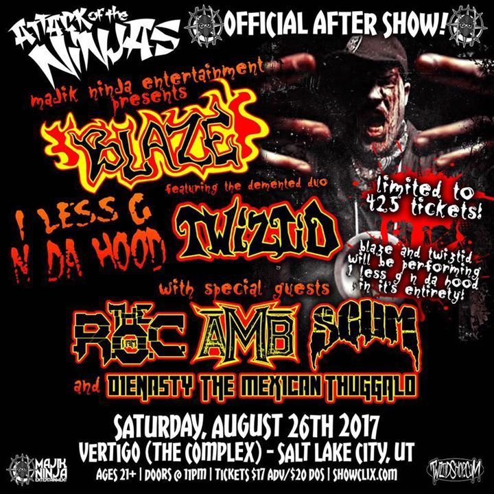 Blaze- Ya Dead Homie @ Backbooth - Orlando, FL