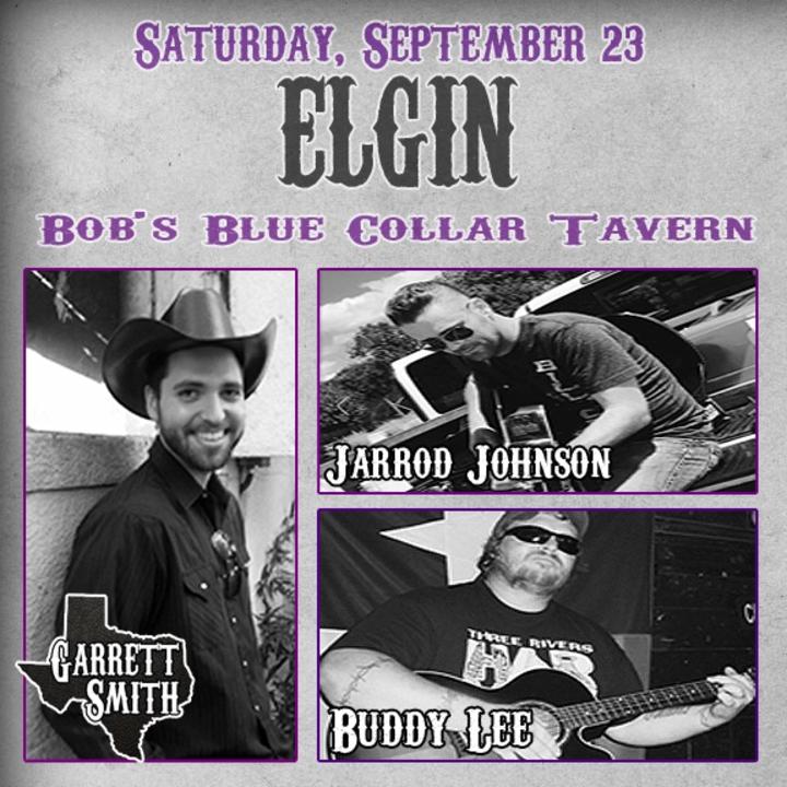Garrett Smith Music @ Bob's Blue Collar Tavern - Elgin, TX