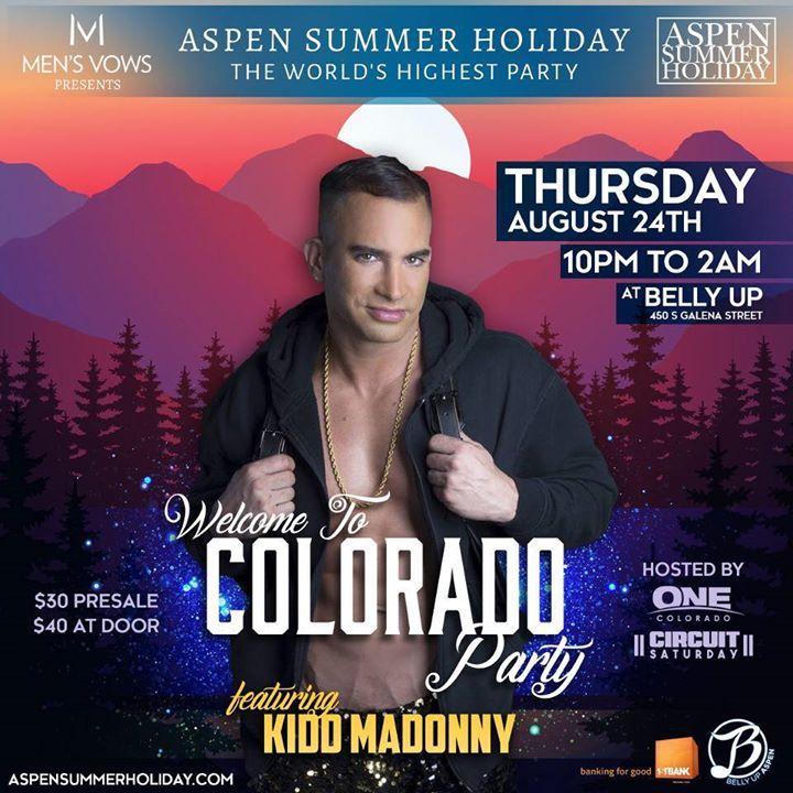 DJ Kidd Madonny @ Sailaway event  - San Diego, CA