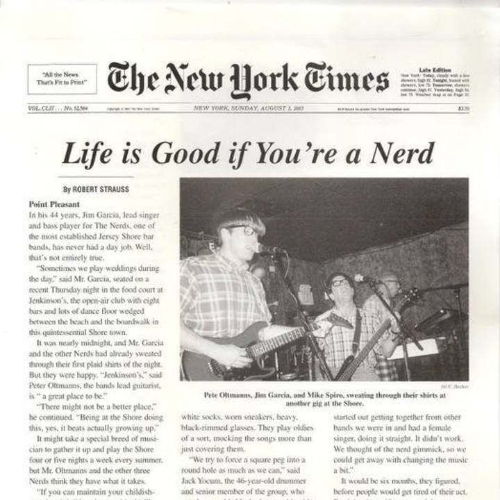 The Nerds Tour Dates
