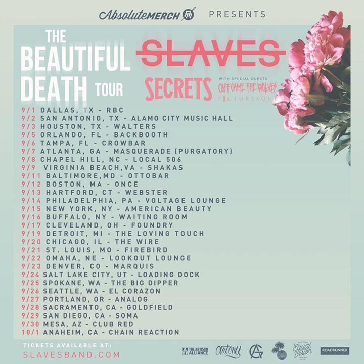 Jonny Craig Tour Dates