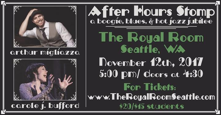 Arthur Migliazza @ The Royal Room - Seattle, WA