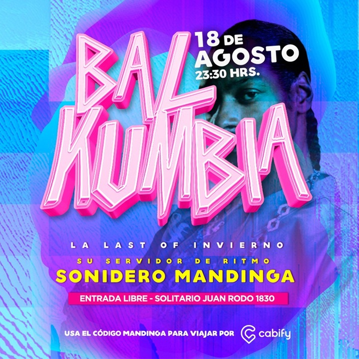 Sonidero Mandinga @ Solitario Juan - Montevideo, Uruguay