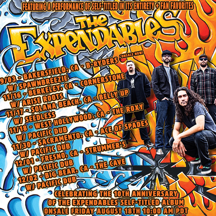 The Expendables Tour Dates